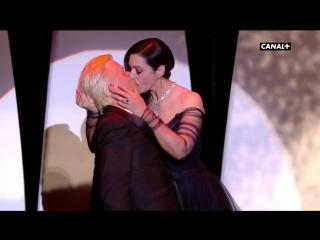 Monica Belluci et Alex Lutz - Festival de Cannes 2017
