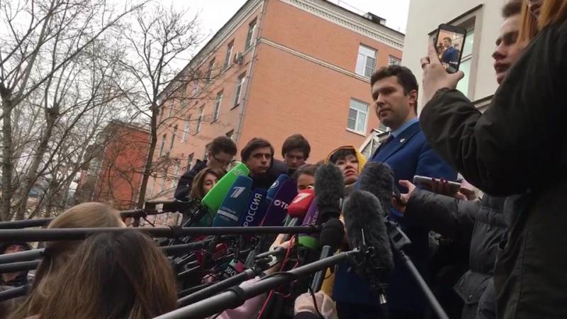 Прокурор Борис Непорожный о приговоре Алексею Улюкаеву: «Приговор соответствует санкции статьи»