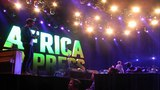 Africa Express@Roskilde'15 Damon Albarn being carried off stage