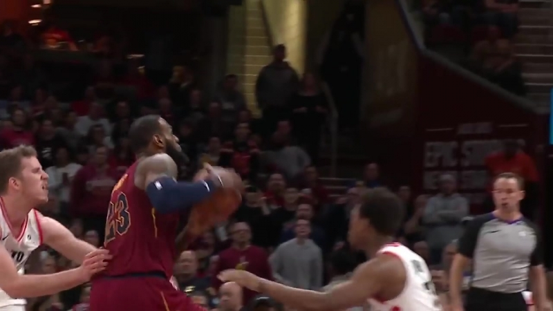 LeBron Leads The Comeback With 35 pts 17 ast vs The Raptors