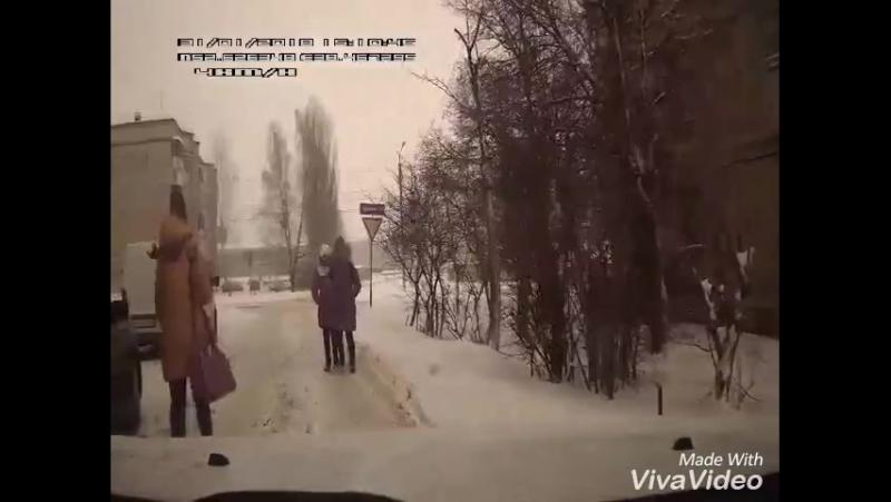 Видео, леденящее душу автомобилиста, сняли в Липецкой области