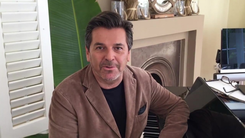 Томас Андерс приглашает на теле-шоу Xaviers Wunschkonzert Live на канале Sky 1 - 06.10.2017