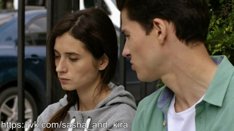 Саша и Кира на улице, и Вера мельком(5х35)