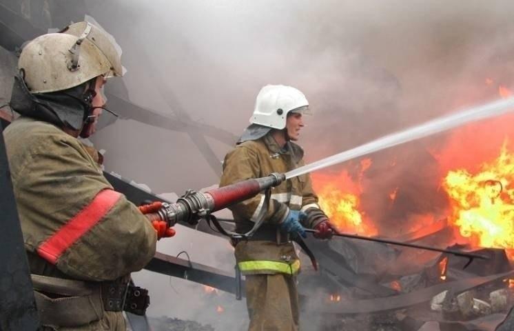 Один человек пострадал при пожаре в Нижней Ермоловке