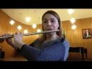 И С Бах партита для флейты соло a moll Allemanda