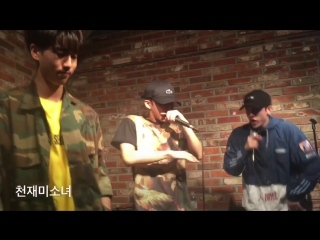 JYP Boys @ 3RACHA (Jisung/Changbin/Chris) mixtape