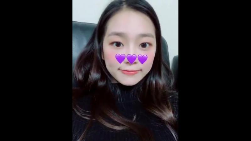 171225 Yeeun @ Fancafe