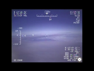 U.S. EP-3E Aries II Intercepted Over Black Sea by Russian Fighter.
