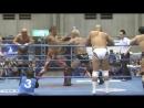 Jun Akiyama, TAJIRI, Yutaka Yoshie, Zeus vs. Keiji Muto, Kento Miyahara, Naoya Nomura, Yuma Aoyagi (AJPW - New Year Wars 2018)