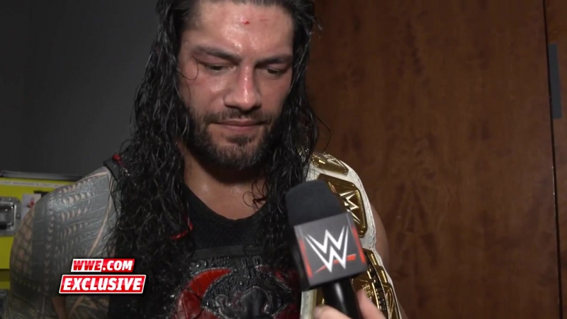WWE.COM RAW FALLOUT: Reigns Sends His Family A Message After His Intercontinental Title Win (11/20/2017)