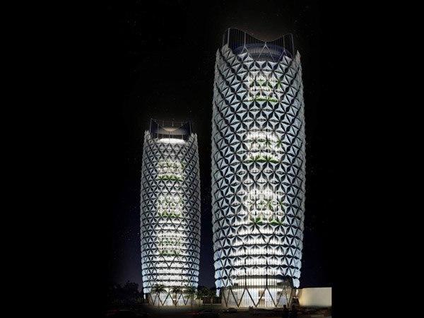 Intelligent Shading System Unfurled On Abu Dhabi's Al Bahar Towers / Aedas Architects
