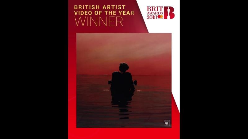 The winner of BRITs 2018 British Video,