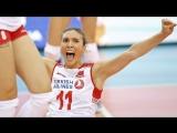 Naz Aydemir BEST SETTER. Amazing Volleyball SETTER. EUROVOLLEY 2017.