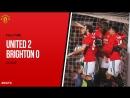 Манчестер Юнайтед 2:0 Брайтон (Кубок Англии 2017/2018 1/8 финала 17.03.2018)