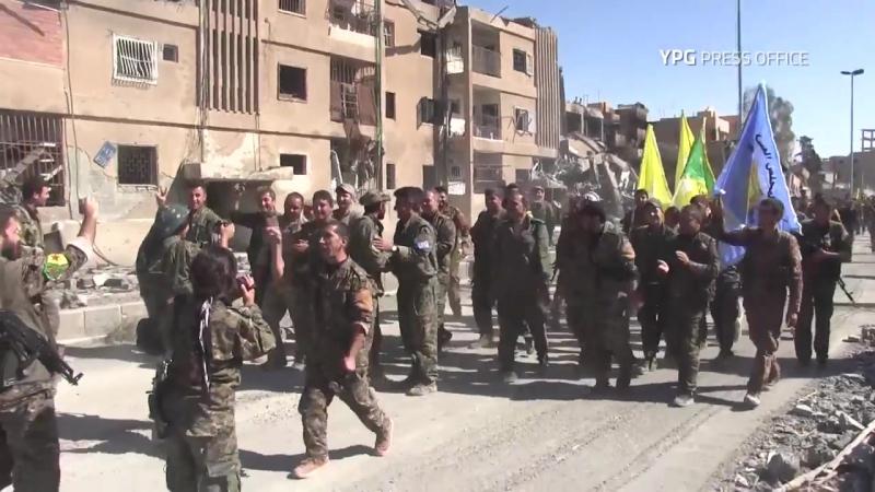 Сирия Полное освобождение Ракки от ДАИШ