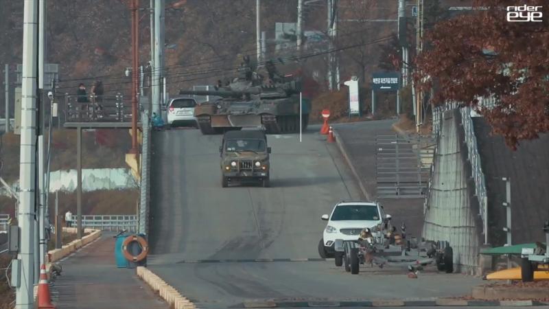 [4K]ROK_ARMY_T-80U_Tank_Cross_a_River_Training_대한민국_육군_3기갑여단_T-80U전차_도하훈련_[ridereye]