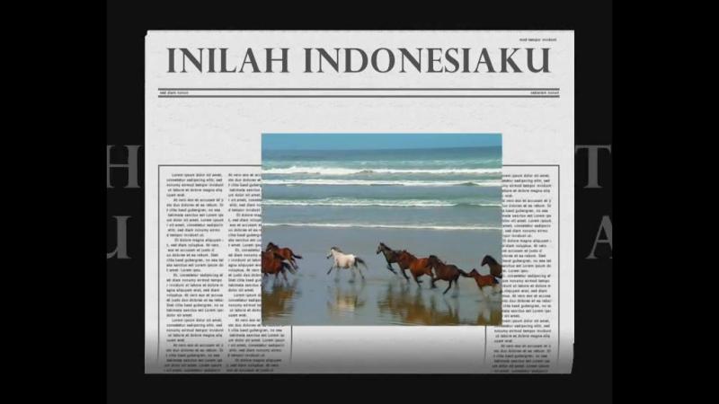 Vid Karaoke indah Negeri indonesiaku