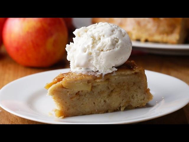 Upside-Down Apple Pie Bread Pudding