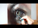 Oil Painting Time Lapse | Realistic Eye about my art show