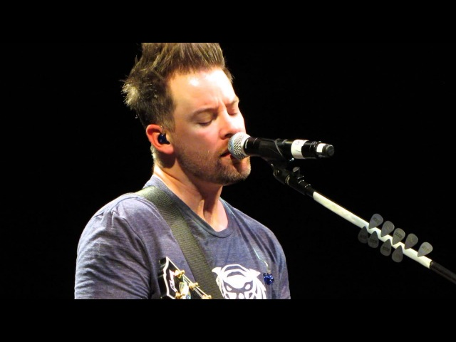 David Cook I'm Gonna Love You 11-1-14 Ft Lauderdale,FL Amaturo Theatre