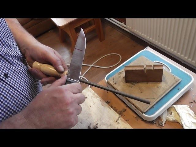 Легкость правки ножа .Простушка против монстров.Видео из Полушкино.
