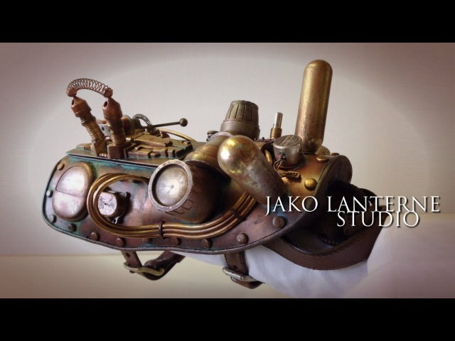 Steampunk time travel prop