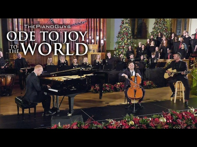 Ode To Joy To The World (With Choir Bell Ringers) The Piano Guys