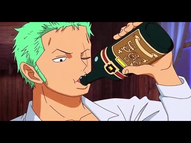 Zoro like this beer