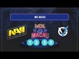 NaVi vs VGJ.Storm II MarsTV Dota 2 League Macau