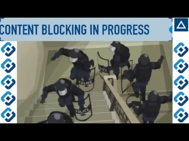 CONTENT BLOCKING IN PROGRESS · coub, коуб