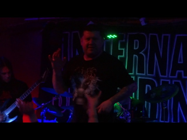 Internal Suffering - Cyclonic Void Of Power (live in Rostov)