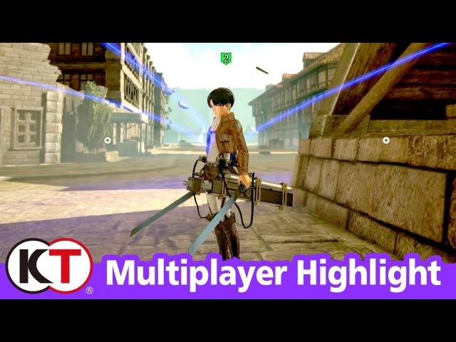 Attack on Titan 2 - Multiplayer Highlight