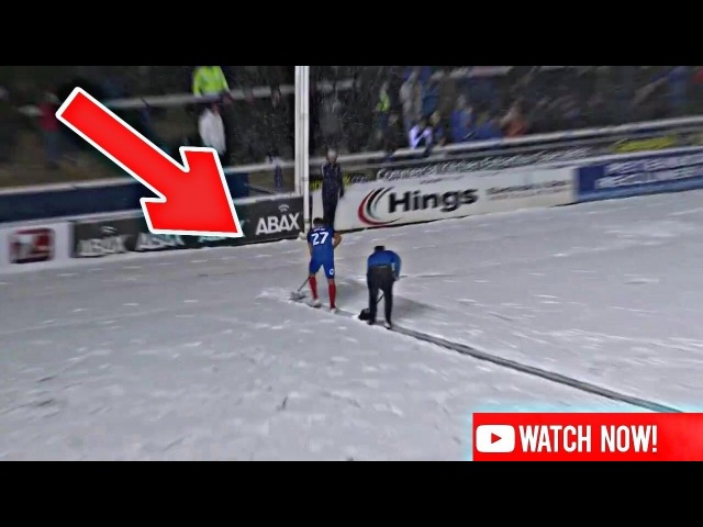 PETERBOROUGH VS WALSALL FC - STEVEN TAYLOR - THE SNOWMAN (27/02/2018) 😂❄️👏