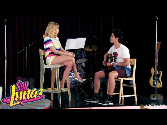 Soy Luna 2 - Ambar ensaya la canción para el Open con Simon (Ep. 44)