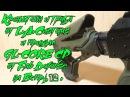 Кронштейн и труба от L.A.Customs и приклад GL-CORE CP от Fab Defense на Вепрь 12.