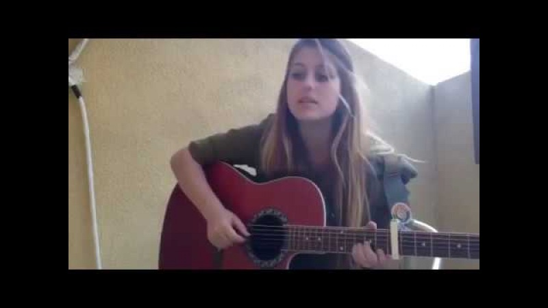 Israeli soldier sings 'I have a chance to survive' Hebrew song IDF Israel army female soldiers