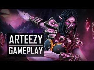Arteezy playing Templar Assassin (Gameplay)