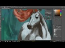 Speed Paint. Digital Art. Unicorn.