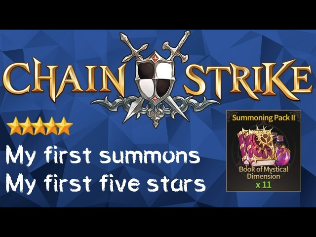 CHAIN STRIKE Summons - 11 Book of Mystical Dimension - (200318)