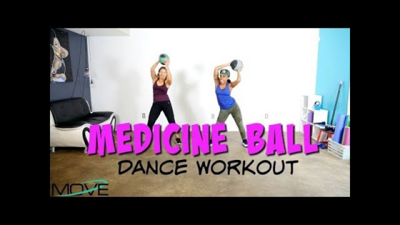 Medicine Ball Dance Workout -Keaira LaShae