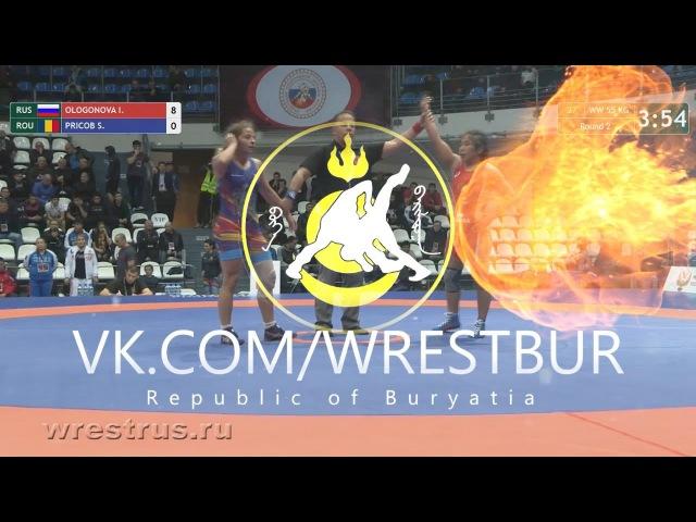 КЕН-2017. 55 кг.2 круг. Ирина Ологонова