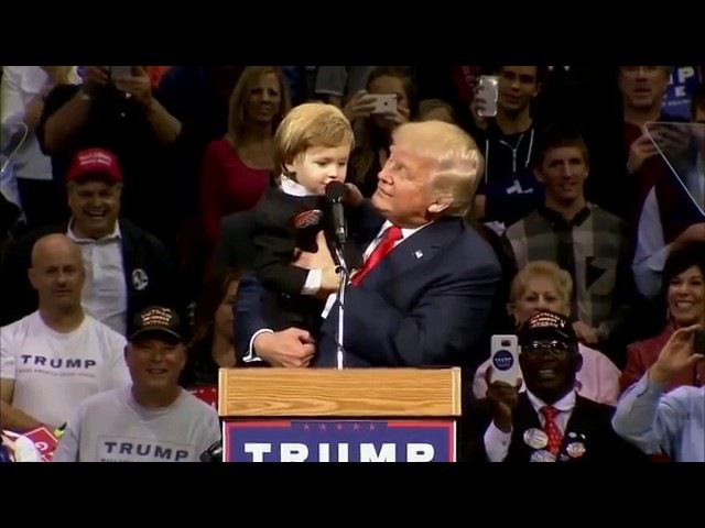 Donald trump hello Mother fucker