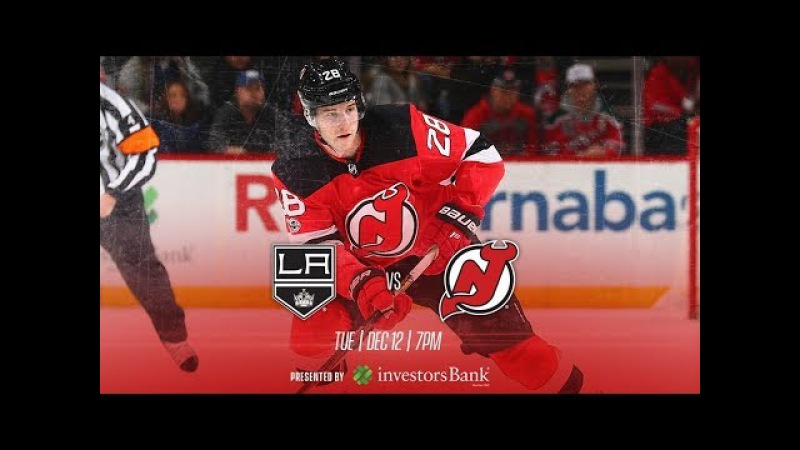 NHL 18 PS4 REGULAR SEASON 2017 2018 Los Angeles KINGS VS New Jersey DEVILS 12 12 2017 NBCSN