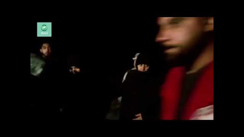 Сирия: корреспондент ФАН снял на видео эвакуацию населения из северного анклава боевиков в Гуте