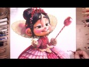 Drawing Princess Vanellope (Wreck-It Ralph) | drawholic