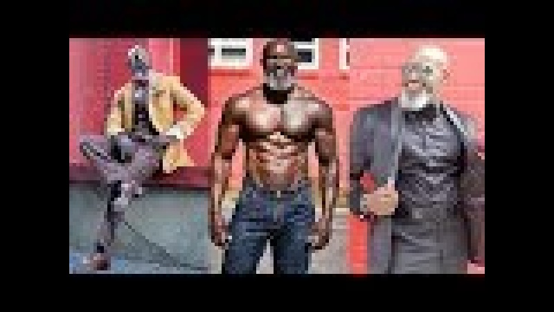 STRONG Workout RIPPED GRANDPA - Jean Titus - Bodybuilding motivation