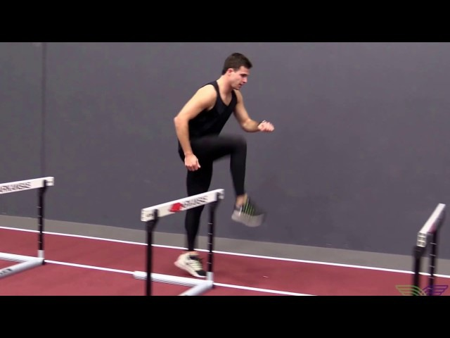 HOW TO HURDLE - Skip Drills Lead Leg Right
