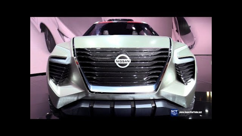 Nissan Xmotion Concept - Exterior and Interior Walkaround - Debut 2018 Detroit Auto Show