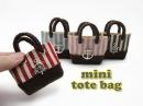 DIY Miniature Doll Mini Tote Bag - No Sew!