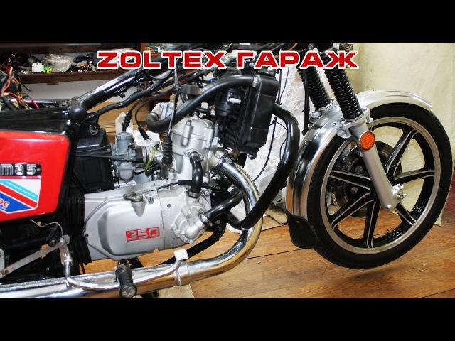 Zoltex гараж: Обслуживание мотоцикла ИЖ Планета 6